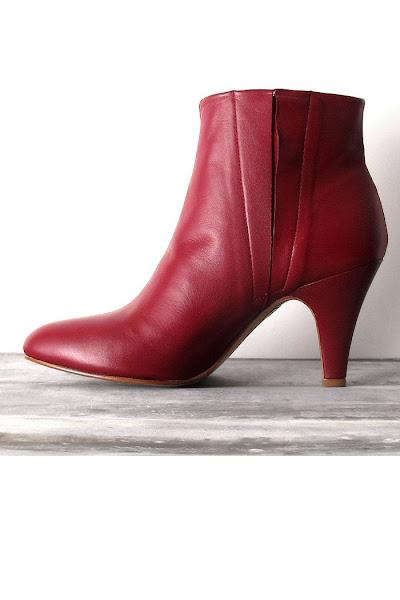 Boots Patricia Blanchet bordeaux