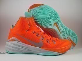 Sepatu Basket Nike Hyperdunk 2014 Orange Green,Harga basket Nike, jual nike hyperdunk, hyperdunk 2014