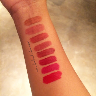 all swatches blp beauty