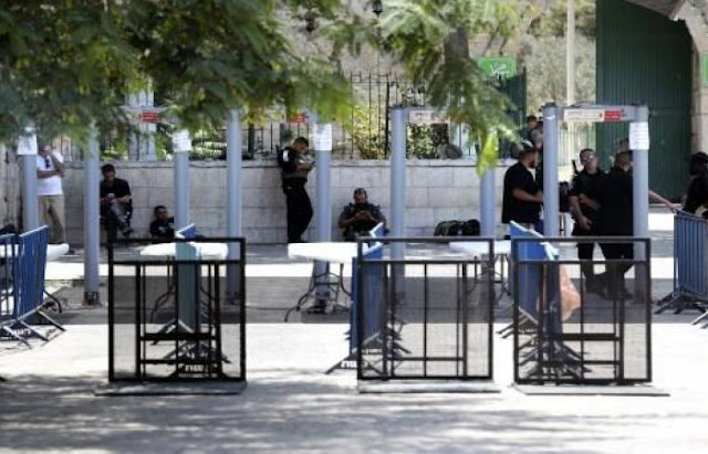 Metal detectors to remain at Temple Mount