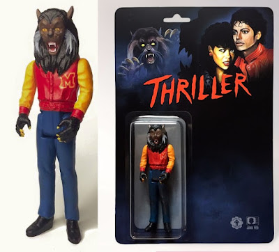 "Michael Jackson ""Thriller Werecat"" Resin Figure by Tyler Ham of HamFX x Junk Fed"