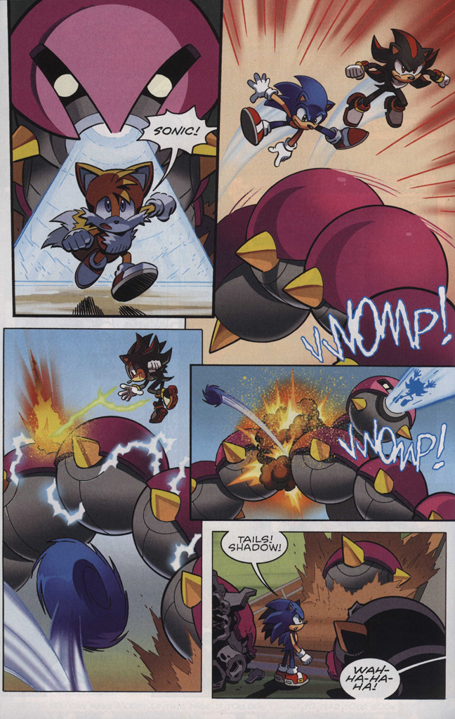 Read online Sonic The Hedgehog comic -  Issue #242 - 16