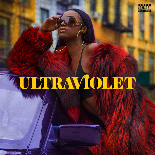 Justine Skye - ULTRAVIOLET Cover