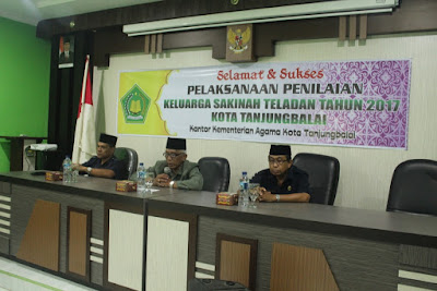 Plt Kakankemenag Tanjungbalai Buka Penilaian Keluarga Sakinah Teladan