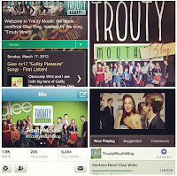 Troutymouth.com Glee Fan Site Accomplishments