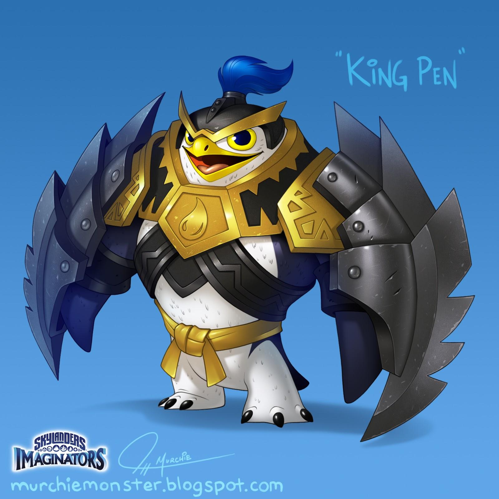 [Image: King%2BPen_Skylanders_Jeff%2BMurchie.jpg]