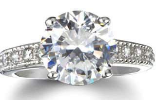 Undoubtedly the worth of a cubic zirconia engagement rings  is under a genuine diamond ring