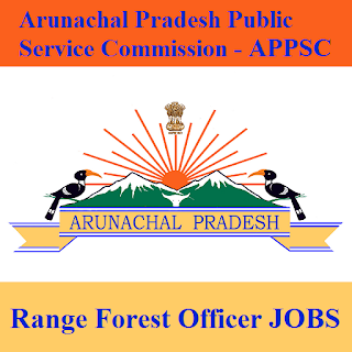 Arunachal Pradesh Public Service Commission, APPSC, Arunachal Pradesh, AP, PSC, Graduation, Range Forest Officer, freejobalert, Sarkari Naukri, Latest Jobs, appsc logo