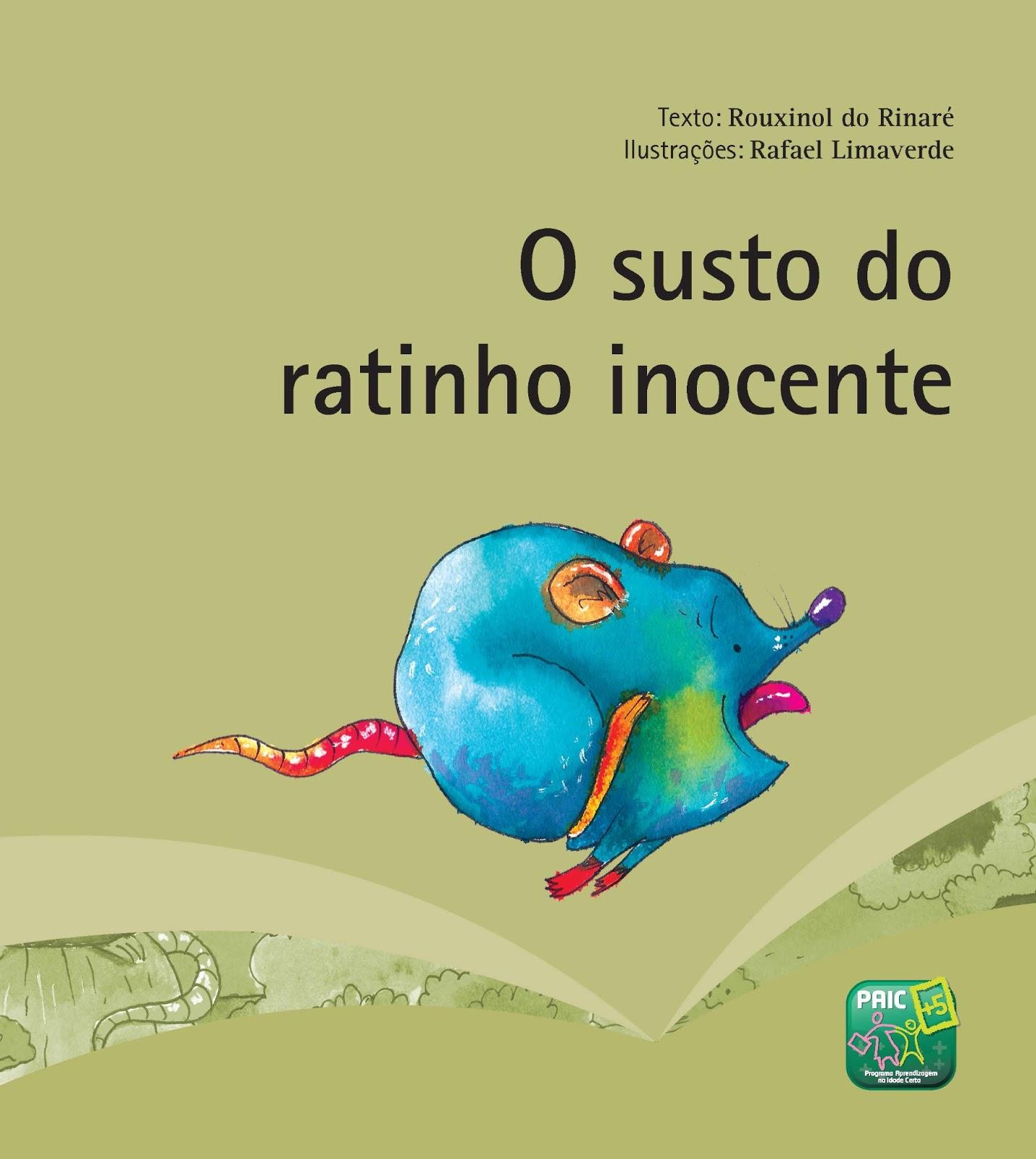 O SUSTO DO RATINHO INOCENTE | Rouxinol do Rinaré : Pássaro canoro ...