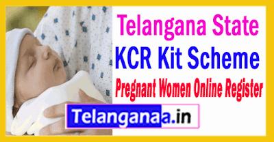 KCR Kit Scheme for Pregnant Women in Telangana How to Register