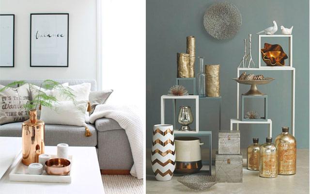 Marzua el color metalizado en decoraci n - Decoraciones en color plata ...