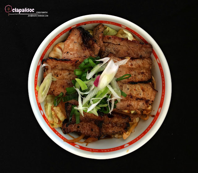 Grilled Pork with Vegetables from Tokyo Power Rice
