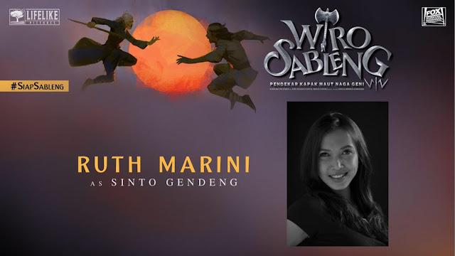 Ruth Marini sebagai Sinto Gendeng/ Sumber foto @LifeLikePictrs