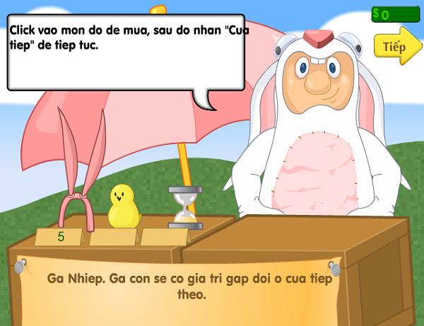 Game Săn Trứng Vàng, săn trứng tính điểm cực vui a