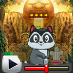 G4K Cute Raccoon Escape Game Walkthrough