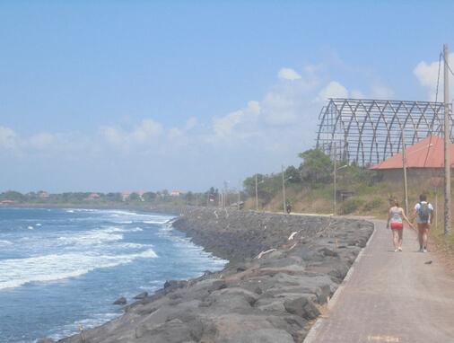 Padang Galak Beach Sanur, Padang Galak Surf, Pantai Padang Galak Sanur Bali
