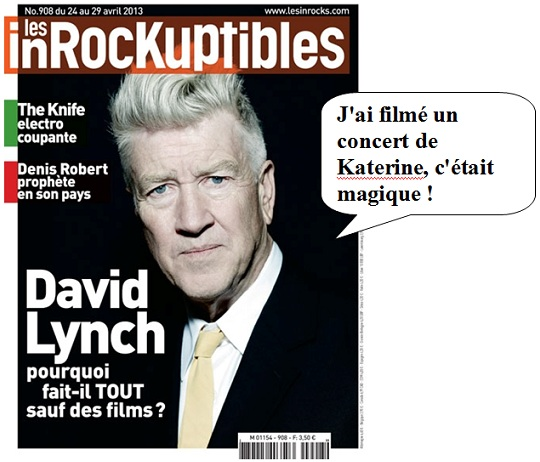 Bonnaud Inrocks, Christophe Conte Dieudonné, Dieudonné Inrocks, Duran Duran David Lynch, Duran Duran Inrocks, Duran Duran Les Pop modernes, Inrocks Lynch, Romain Blondeau Inrocks, Romain Blondeau Lynch