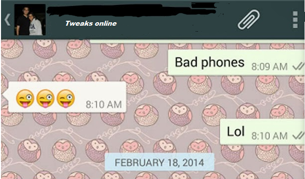 Tweaks Online: Hide Whatsapp