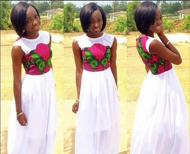 Ankara Gown Style: Ankara Gown Style For Ladies