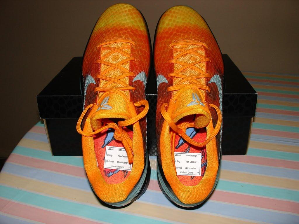 official photos 0f483 fa436 ... Nike Zoom Kobe VI All Star - Sunset ...