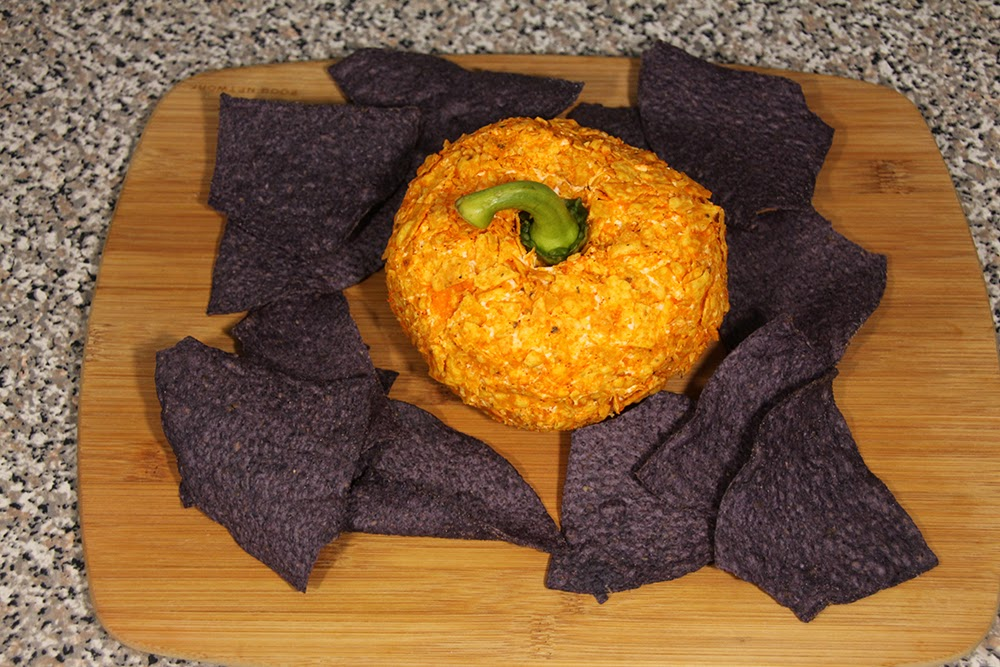 Spicy Pumpkin Cheese Ball