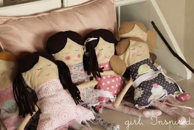 Como hacer Muñecas de TRAPO Dulce Emily y Olivia