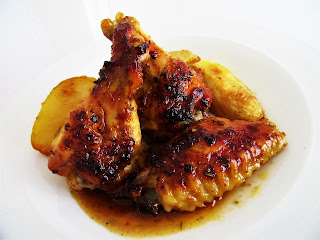 Chicken wings in Dalmatian marinade