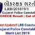 LRB Gujarat Police Result 2019