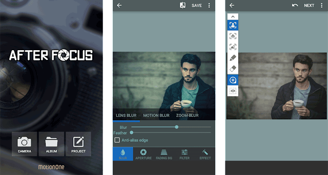 Focus Your Image in Android Device Like The DSLR Camera