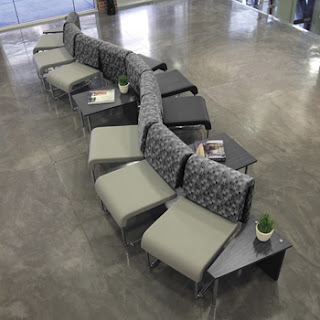 OFM Uno Seating with Profile Tables