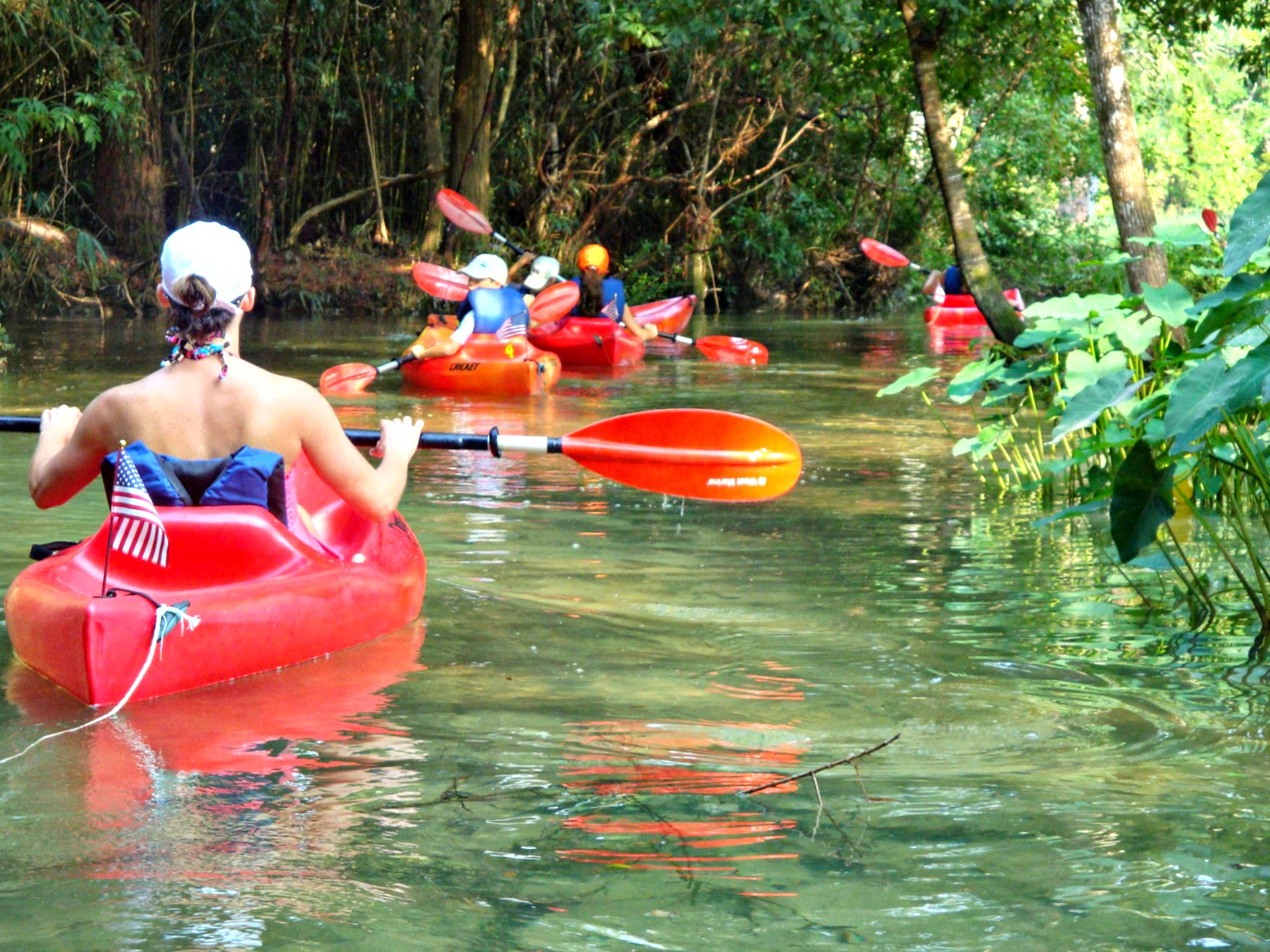 You can feel good about paddling with BeachnRiver Kayak Rentals.