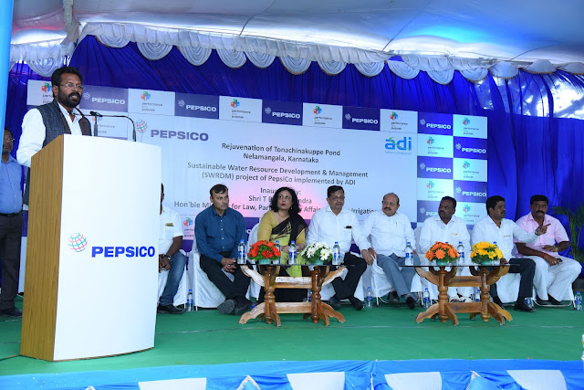 PepsiCo India and Alternative Development Initiatives (ADI) facilitate improved 'water security' and enhance livelihoods of rural communities in Nelamangala