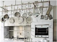 Gantungan Peralatan Dapur Untuk Menyimpan Perabotan