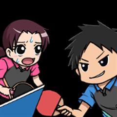 Table Tennis Club Sticker