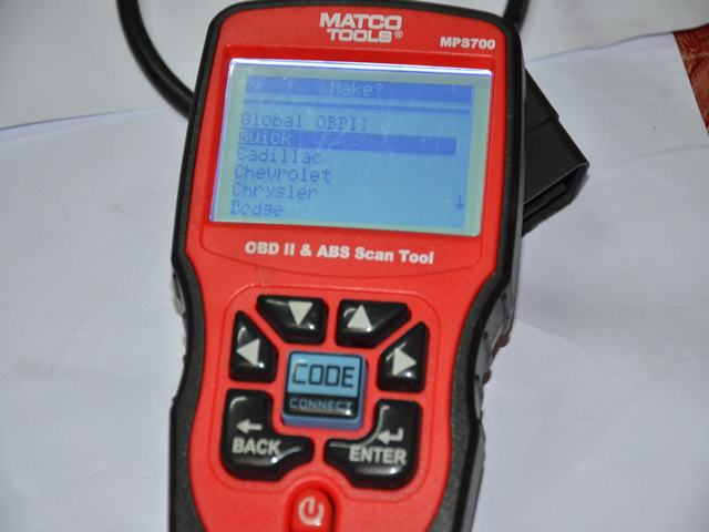 Update for Matco mps700 scanner