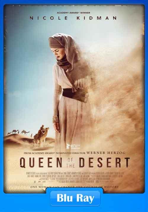 Queen of the Desert 2015 1080p BluRay 700MB x265 HEVC Poster