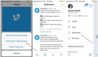 Twitter meluncurkan fitur bookmark untuk tweet, ini Penjelasannya