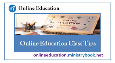 Online Education Class Tips