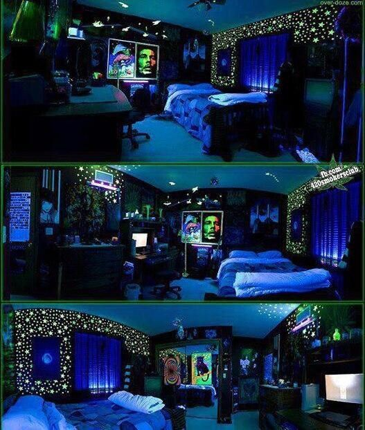 Glow In The Dark Bedroom Ideas Interior Designs Room