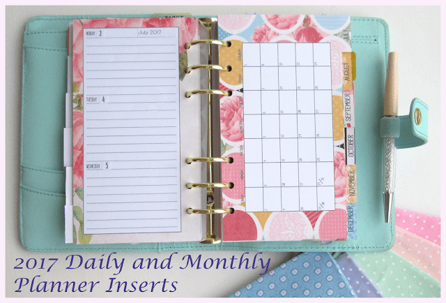 Double sided printing Personal Planner inserts Silhouette Cameo