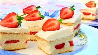 Japanese Strawberry Shortcake Recipe   How It's Made