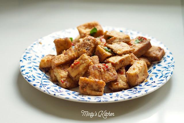 Tofu  (黃金豆腐)