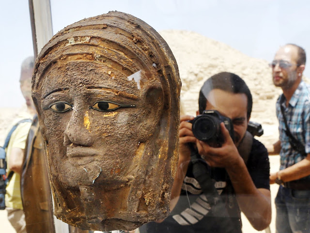 More on Mummies, embalming equipment discovered south of Pyramid of Unas in Egypt's Saqqara