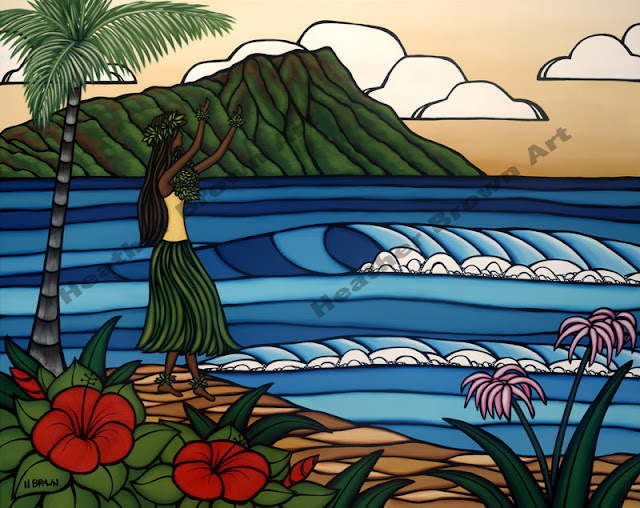 heather brown hawaiian art popular