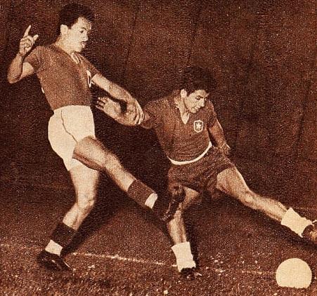 México y Chile en Campeonato Panamericano 1956, 17 de marzo