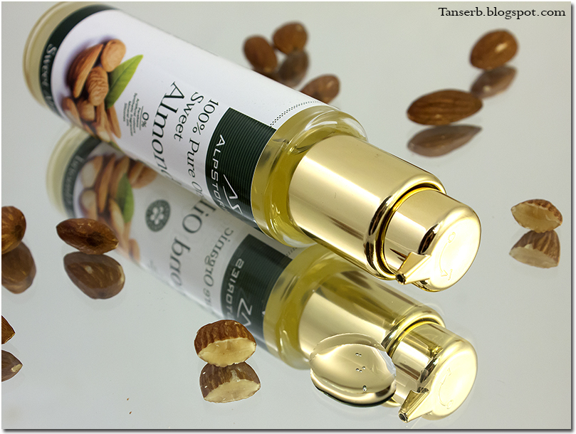 Alpstories 100% Pure Organic Sweet Almond Oil. Миндальное масло