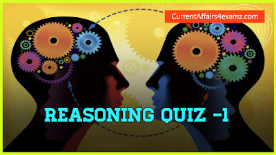 Reasoning Quiz for SSC CGL