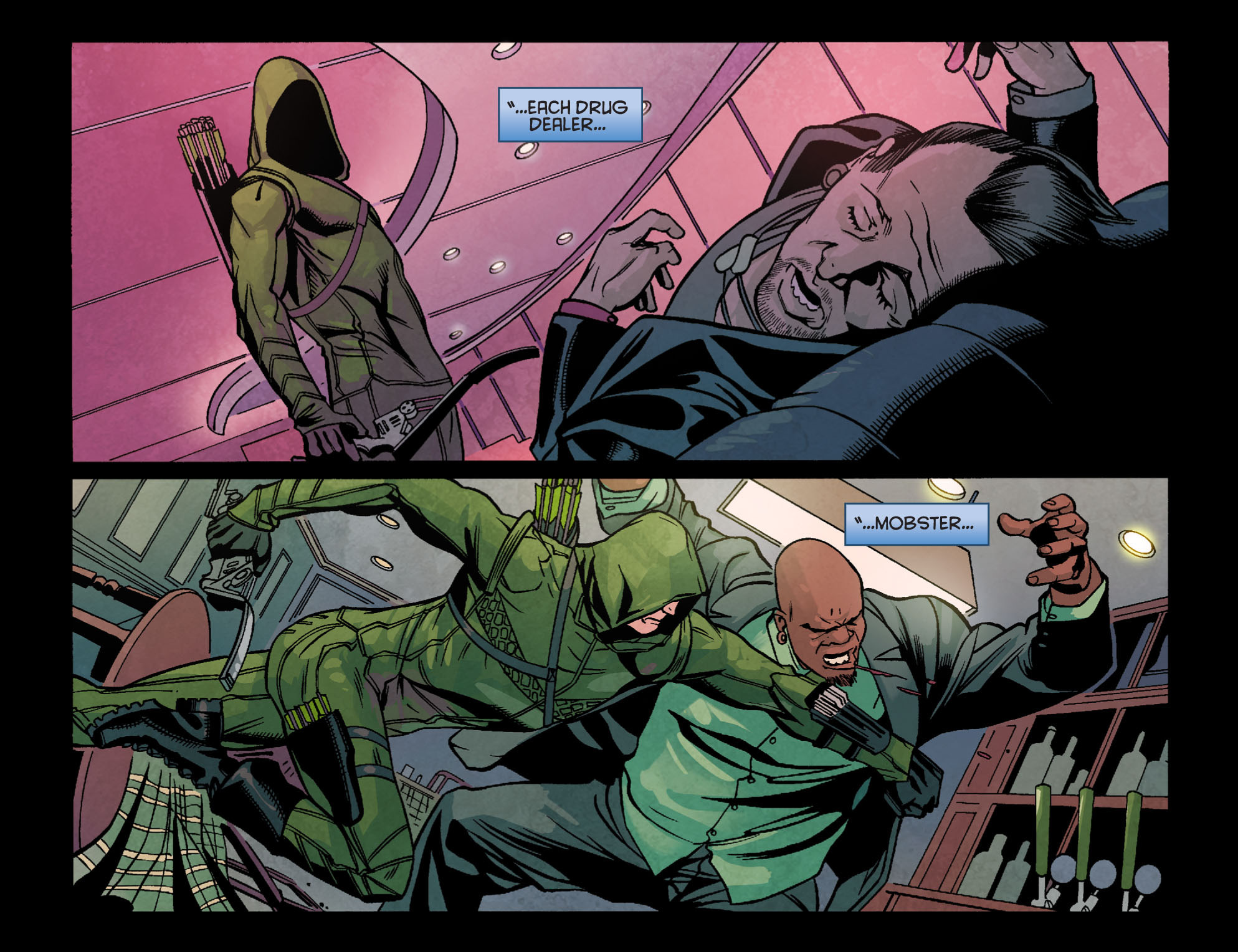 Read online Arrow: Season 2.5 [I] comic -  Issue #24 - 11