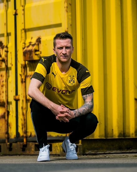 69df32f5892 The new Puma Borussia Dortmund 18-19 home kit will hit stores on May 5  2018
