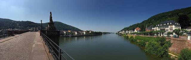 Panorama Alte Brücke Heidelberg
